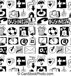 hand drawn business objects
