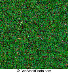 Grass. Seamless Texture. - Green Trimmed Grass on the Lawn....