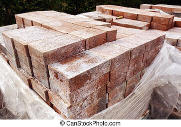New paver bricks to install