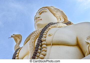 shiva, indio, dios, estatua