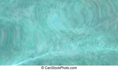 Light blue water waves