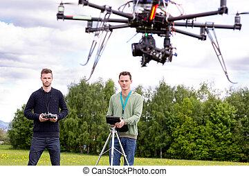 写真撮影, 無人機,  uav