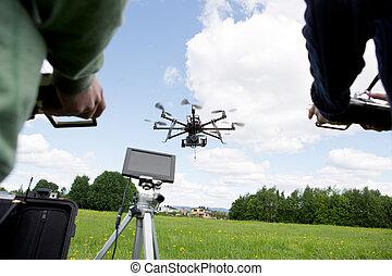 写真撮影, 無人機