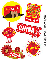China travel country icon