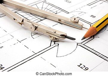 architecture plans - plans for the construction of new...