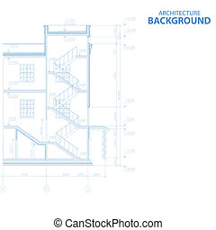 New architecture background - New interesting architectural...