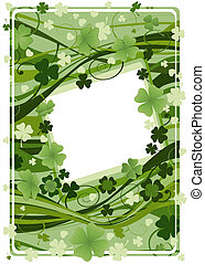 vector design for St. Patrick's Day