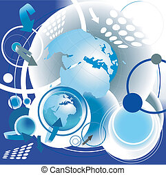 abstract vector communication design