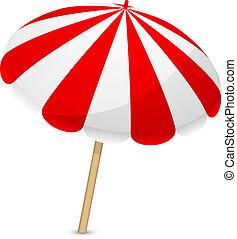 Vector illustration of parasol