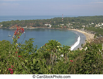 Pacific Ocean cove in Mexico - Pacific Ocean cove in...