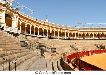 Plaza de Toros in Seville, Spain - Plaza de toros de la Real...