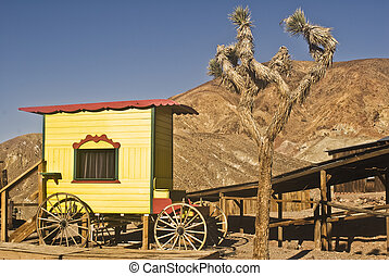 Old West Medicine Show Wagon