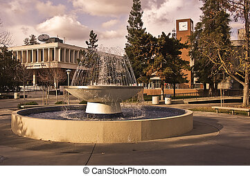 Student Union Fresno State - This is a picture of the...