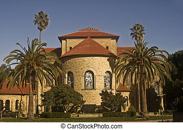 Memorial Chapel at Stanford - This is a picture of the...