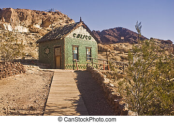 Calicos Bottle House - This is a picture of Calicos famous...
