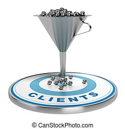 Marketing Sales or Conversion Funnel - webmarketing sales...