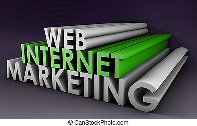Internet Marketing on the Web in 3D Form