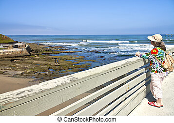 Ocean view Point Loma California. - Ocean view in Point Loma...