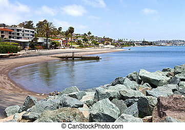 Point Loma San Diego beaches and surf California. - Point...