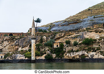 Sunken Village Savasan in Halfeti - Sunken village Savasan...