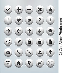 Web site internet icons