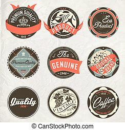 vintage design retro labels - Premium and High Quality retro...