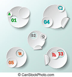 Abstract circle template eps10 vector illustration