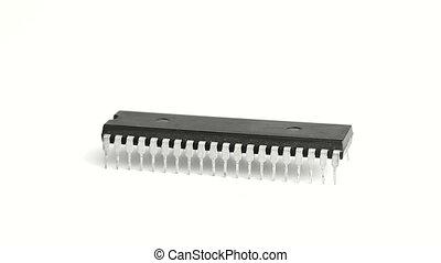 Chip - Rotating computer chip