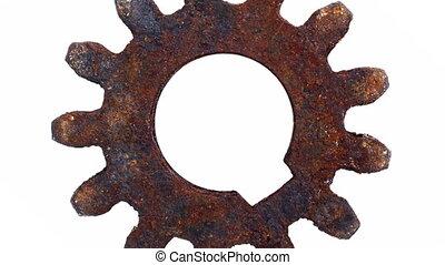 Cogwheel - Turning cogwheel