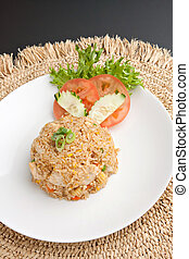 Thailand Crab Fried Rice - A Thai dish of crab fried rice...