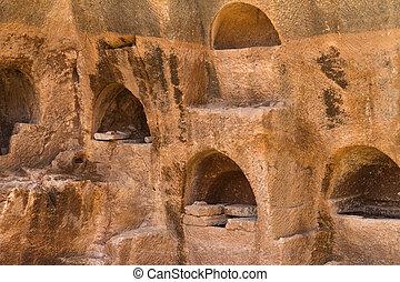 Dara Necropolis in Mardin, Turkey.