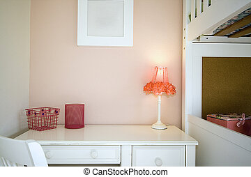 Close up on a Children Bedroom - Close up on a kid\\\'s...