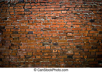 Old brick wall. May be used as background