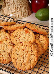 Peanut Brittle Candy Cookies - Delicious cookies with peices...