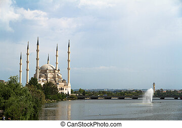 Sabanci Center Mosque in Adana, Turkey.