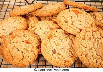 Buttery, Brittle, Candy Bit Cookies