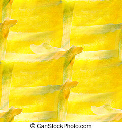 design a watercolor seamless yellow background texture...