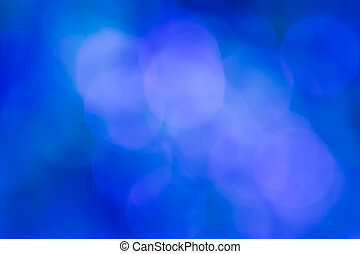 Blue bokeh abstract - Blurred lights Blue bokeh abstract...