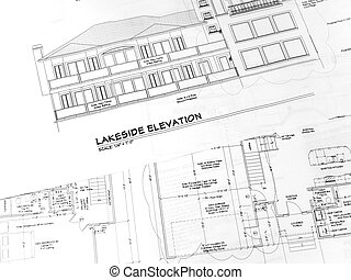 house plans-1 - an overview of an example set of home plans