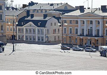 Helsinki. Senate area