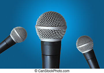Multi microphones - Multi mics ready for speaker...