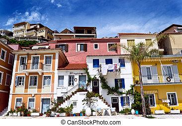 mediterranean house in parga greece