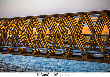 lift bridge - modern lift bridge