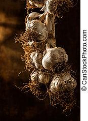 Garlic Plait - Hanging Garlic Plait