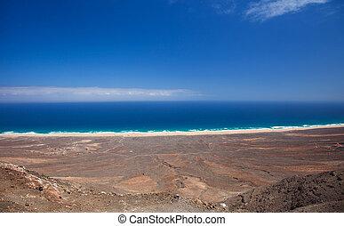 Southern Fuereteventura , Cofete - Southern Fuereteventura ,...