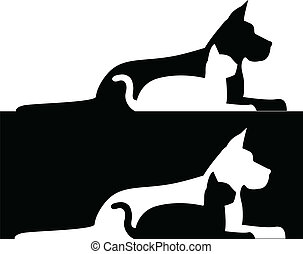 Dog and cat composition