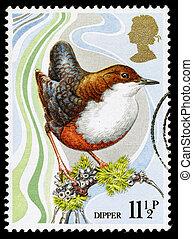 Britain Wild Bird Postage Stamp
