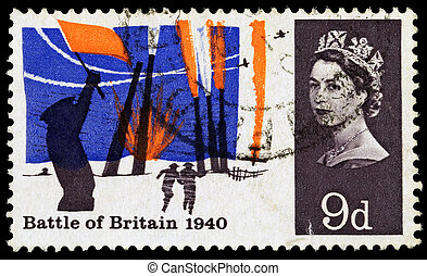 Britain Battle of Britain Postage Stamp - UNITED KINGDOM -...