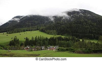Timelapse, Dolomites, Sexten