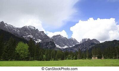 Timelapse, Dolomites, Val Grande